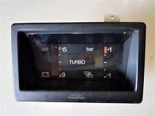 Turbo bar + Volt meter gauge VEGLIA BORLETTI DELTA 1.6 TURBO dal '83 a '86 HF