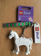 LEGO 850789 FRIENDS HORSE KEY CHAIN BRAND NEW KEYRING BAG CHARM