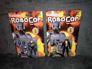 ROBOCOP THE SERIES - ROBOCOP + PUDFACE - TOY ISLAND 1994 RETRO VINTAGE ORION MOC