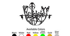 BETHLEHEM VINYL DECAL STICKER CUSTOM SIZE AND COLOR