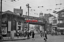 PHOTO  BRUCE GROVE RAILWAY STATION LONDON EXTERIOR 1961 GER LIVERPOOL STREET - E