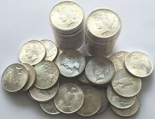 (1) Uncirculated-BU 1922-1926 PEACE SILVER DOLLAR US COIN LOT