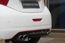 Heckdiffusor carbon look Musketier Peugeot 208