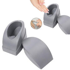 Plastic French Dip Nail Container Nails Tips Guides Nail Art Tool Gray Manicure