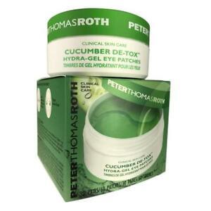 PETER THOMAS ROTH  Cucumber Hydra-Gel Eye Patches 30 pairs/60, NIB, w/spatula