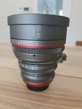 cinematic modified sigma 18-35mm t2 cinema lens canon EF mount