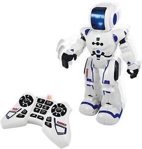Ferngesteuerter Roboter Weiß Blau Buki* France Robot Marko Color 7601 Selten Neu