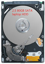 Festplatte 80GB SATA 2,5 Zoll Notebook Laptop Harddisk HDD HP FSC DELL IBM ASUS