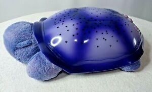 Genuine Cloud B Blue Baby Turtle Twilight Night Light Projector Plush Starry Sky