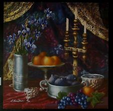 """Original Giclee by Kathleen Haines Dench """"Persimmon Still Life"""""""