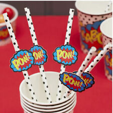 Straws Paper Party Tableware