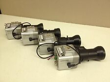 LOT of 4 Samsung SCC-B1310N CCTV Camera w/ 5-100mm Long Range Lens Color Cam