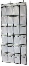 Shoe Organizer Door Closet Storage 24 Large Bathroom Cleaning Supplies Home New