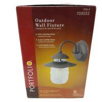 Outdoor Wall Porch Patio Light Portfoli Exterior Lighting Lamp Outdoor Fixture 9