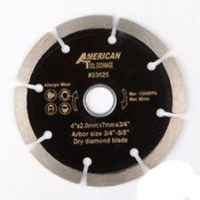"4"" Diameter Wet or Dry Circular Diamond Tile Cutting Cut Saw Blade"