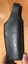 A nice brown leather ACORN Brand made belt holster.  Large frame         DD