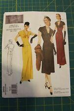 Vogue Vintage Model Original 1947 Design #2610 Size 6-8-10 Misses Dress & Crepe