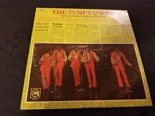 THE TEMPTATIONS Live At London's Talk Of The Town LP '70 GORDY Motown SOUL