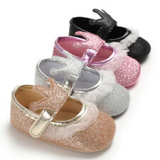 Newborn Baby Girl Crown Pram Shoes Infant Crawling Shoes Party Princess Shoes