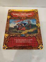 World of Greyhawk (No Box)(Greyhawk Gygax AD&D Campaign Setting 1983 TSR)