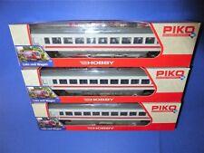 PIKO H0 58308 3teil IC-Großraum Wagenset