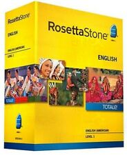 Rosetta Stone Version 4 TOTALe: English (American) Level 1 (Mac/PC)