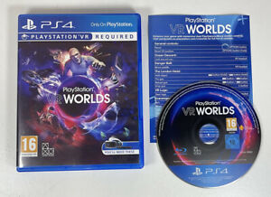 PlayStation VR Worlds Step Into Five Unique Worlds - Sony PS4 Game - Free P&P