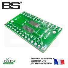 SOP28 SSOP 28 T SSOP 28 SMD adaptateur DIP DIP 0,65 / 1,27 mm breakout board