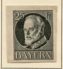 Bavarian Mint Hinged Stamps