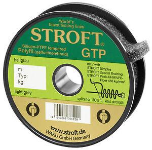 STROFT GTP R2 250 m Geflochtene Angelschnur orange 5,5 Kg