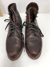Wolverine Original 1000 Mile Work Boots Brown Mens Sz 11.5 W W05301 Vibram Heel