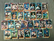 1990 SEATTLE MARINERS Topps COMPLETE Baseball Team SET 29 Cards GRIFFEY JOHNSON!
