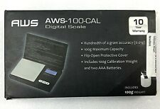 American Weigh Scales AWS-100-CAL Digital Portable Kitchen Scale NEW