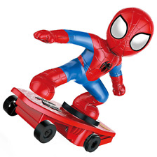 RC Spiderman Children's Remote Control Skateboarding Scooter Boys' Birthday Gift
