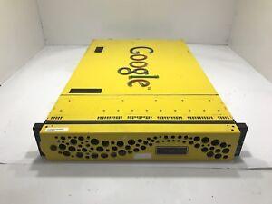 Google Search Appliance G100 T4 Dual Xeon E5-2640 2.50Ghz Six-Core, 96GB Server