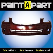 Fits: 2005 2006 Nissan Altima (S, SE, SL) Front Bumper Painted A15 Red Metallic