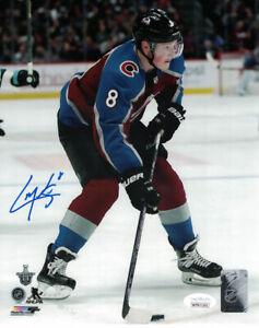 Cale Makar Autographed/Signed Colorado Avalanche 8x10 Photo JSA 25200