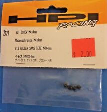 HPI Part #Z721 Screw Set M5x5mm (4) for the Savage XL/Savage SS/Pulse