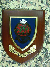 Regimental Plaque / Shield - The Queens Regiment