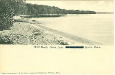 Spicer MN West Beach on Green Lake