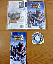 Monster Hunter Freedom 2 for Sony Playstation Portable PSP UK PAL Region 2