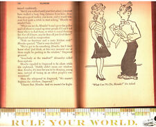 Blondie & Dagwood ~1944~ H/C Comic Strip Whitman Novelization Ultra Rare! L@@k!