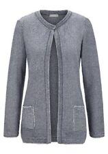 Den Sommer Damen-Pullover mit mittlerer Strickart ohne Muster