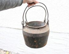 Vintage Cast Iron Smelting Pot Glue Pot Double Boiler Melting Pot Crucible