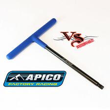 APICO TOOLS T-BAR PREMIUM TORX HEAD BLACK/BLUE T30 IDEAL FOR KTM HUSQVARNA