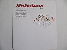Meravigliosamente Formulato Love CARD hanno un favoloso giorno biglietto d'auguri compleanno in rilievo