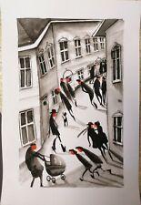 More details for original watercolour  a4 paper by jndox art  #1279