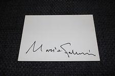 Maria Farantouri SIGNED AUTOGRAFO SU 10x15 cm linguette inperson look