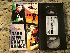 DEAD MEN CAN'T DANCE RARE VHS! NOT ON US DVD! 1997 MICHAEL BIEHN WAR NORTH KOREA