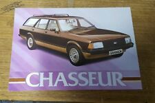 FORD GRANADA CHASSEUR Special Edition brochure